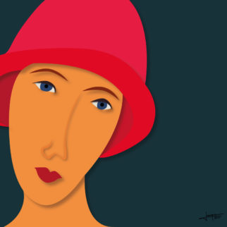 femme-au-chapeau-joaquim-vidal